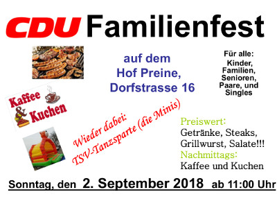 2018 familienfest